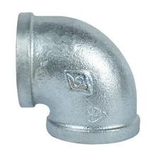 ST brand FIg no.90 elbow hot dipped galvanized Malleable Iron Pipe Fittings made in China