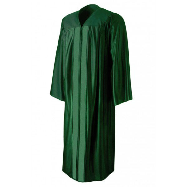 Customized Graduation Gown,High School Graduation Gown Green Color ...