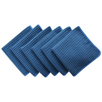 China wholesale Superior Waffle Weave Microfiber Car Window cleaning drying Towels microfiber waffle weave cloth