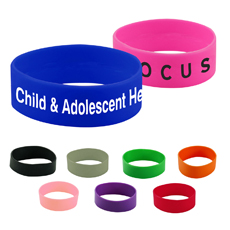 Recycled eco-friendly OEM own logo printed low price great quality segmented colorful professional cool silicone fit bracelet
