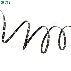 CE,ROHS thin width 4mm 5V 2427 flexible Led Strip 60led multi color changing led rope light