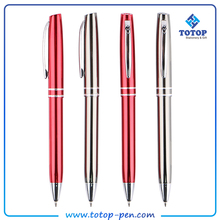 Focus on solution factory small order fast deliver thin metal pen