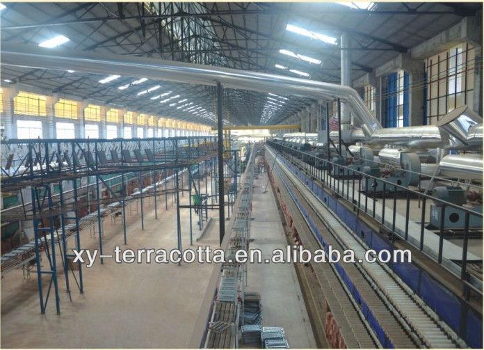 Shenzhen foshan guangzhou barro vermelho terracota telhas do tambor fabricados na China