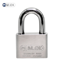 Mok lock nice hard padlock alarm padlock padlock for USA