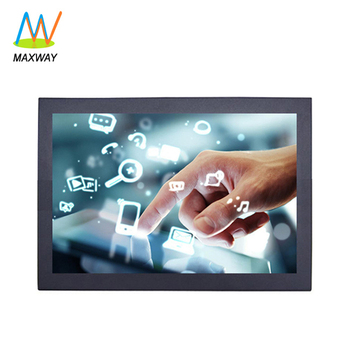 12 inch high resolution touch screen monitor with resistive/capacitive