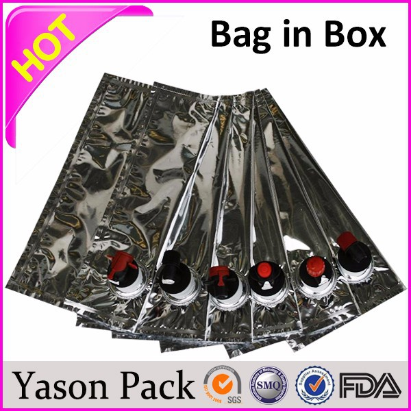 Yason 3 liters water liquid bags bag in box allows contents of 1.5 to 1000 liters
