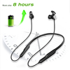 2019 new product rohs stereo wireless bluetooth headset magnet 5.0 bluetooth headphone sport earphone