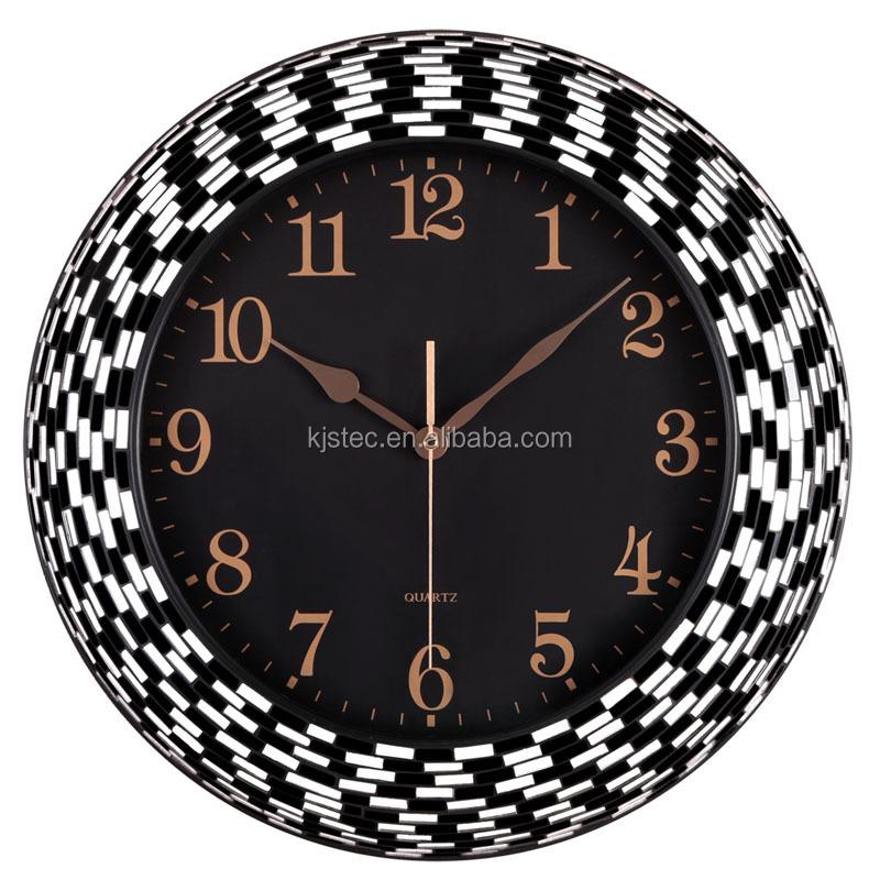 venta caliente pantalla de diseo de moda reloj de pared de mosaico