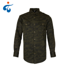 Competitive price high quality custom printed cotton army look shirt men