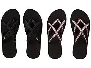 22ee763de4a9 Get Quotations · Teva Olowahu 2-Pack Mbob Lola Dark Purple Women s Sandals