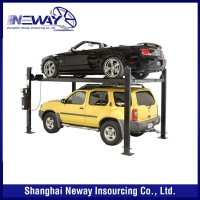 New style high-ranking wifi uhf reader car parking system
