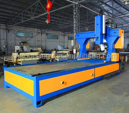 Qingdao rubber wide belt sander/Single side 2 Heads R-RP1300 Model Wide Belt sanding