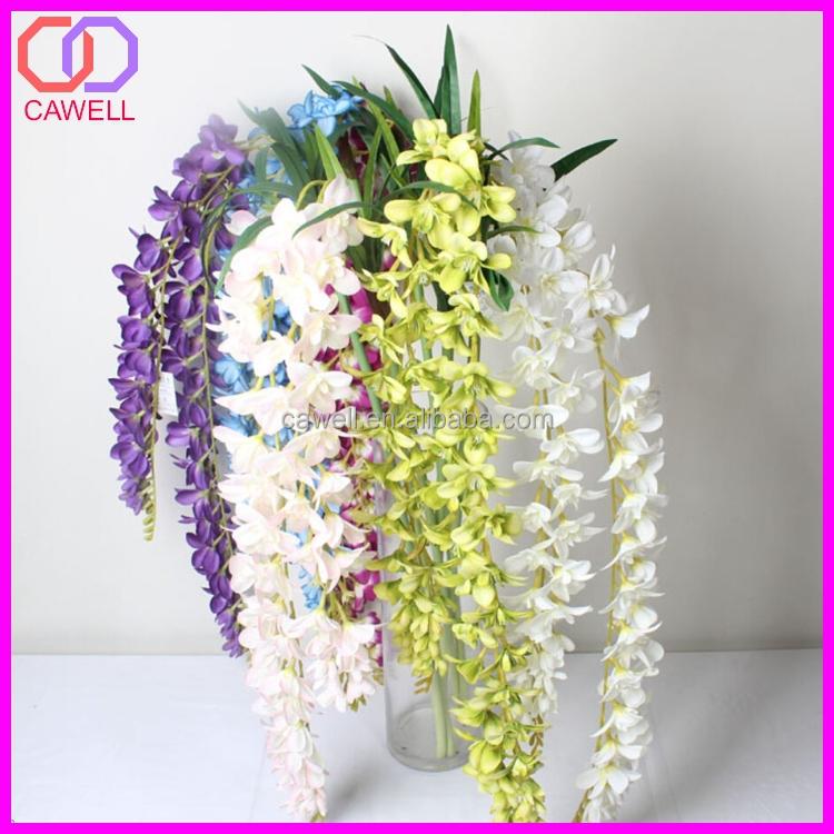 wedding decor wisteria wall hanging silk flower arrangement - Picture Hanging Arrangements
