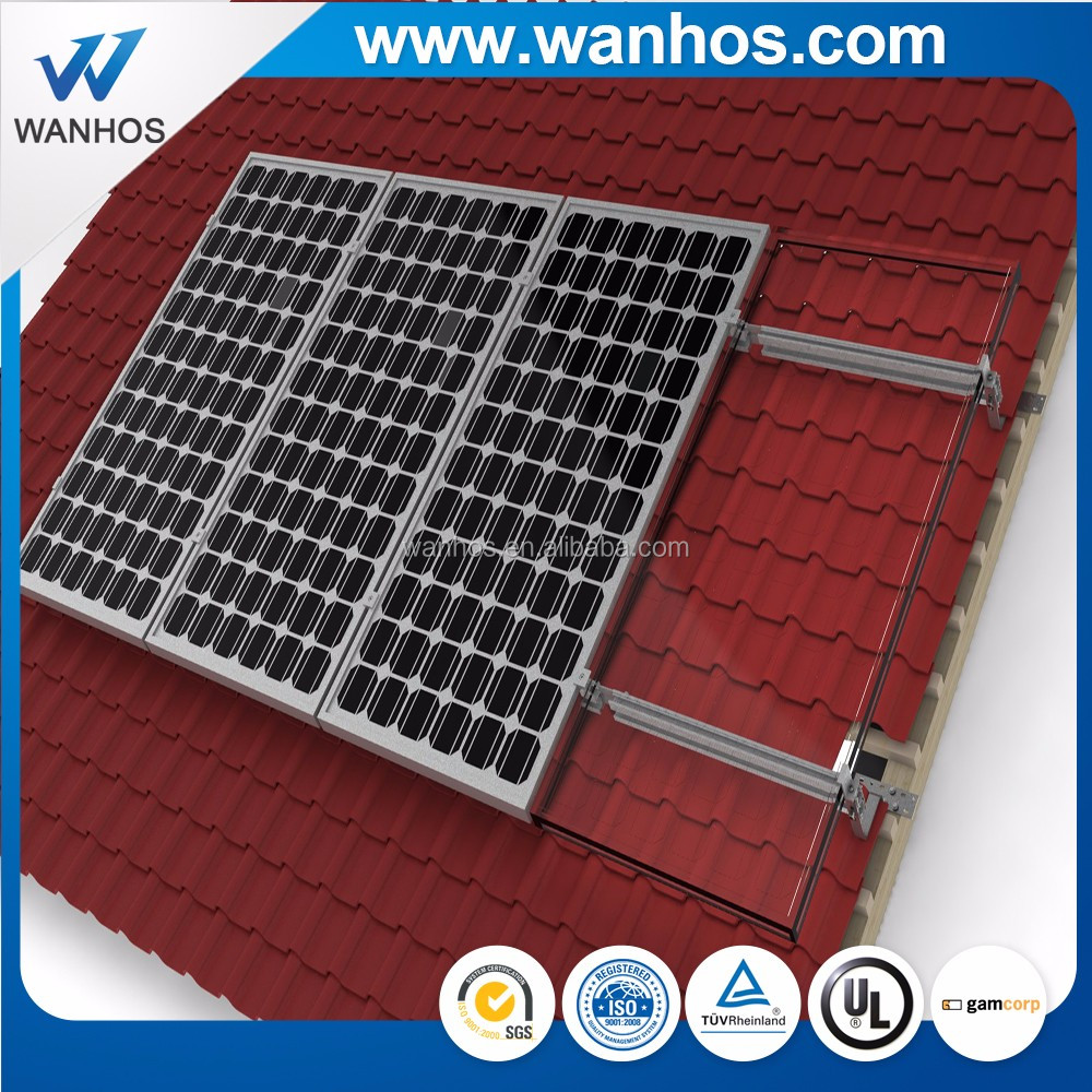 solar panel roof mount/solar mounting bracket  supplier