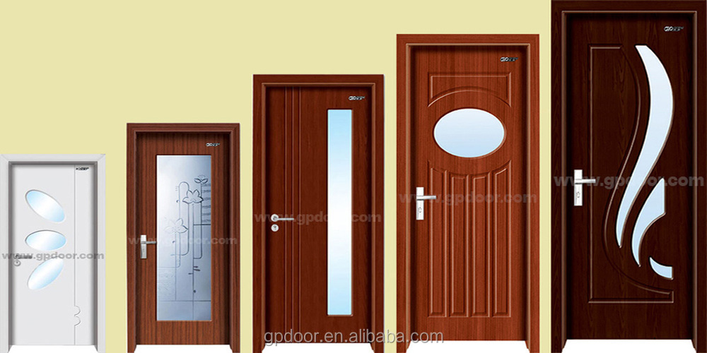 Latest single door design china solid wood doors bedroom for Single wooden door designs 2016