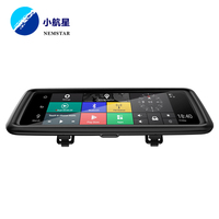 Professional auto dimming rear view mirror Camera Back up android wifi gps