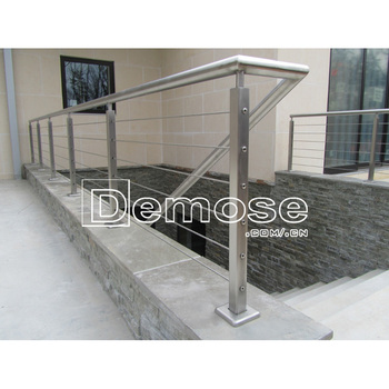 Guard Porch Stair Railing/ Stainless Steel Wire Rope Railing System   Buy  Guard Porch Stair Railing,Stainless Steel Wire Rope Railing System,Porch ...