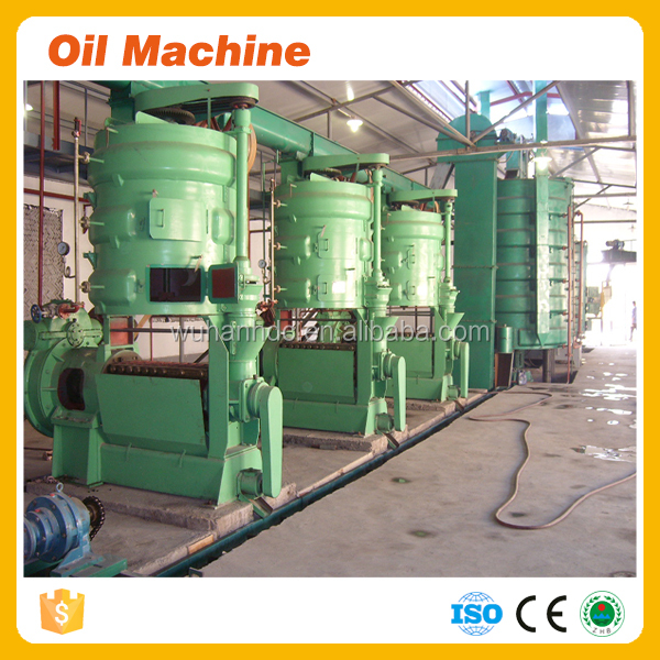 Newest style easy operating 280TPD big crude screw sesame oil pressing machine sesame oil pulling machine best choice