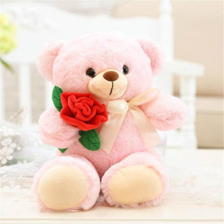 Wholesale Valentine Day Romantic Oem Beautiful Plush Teddy