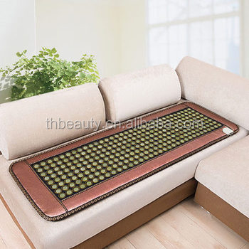 Factory Price Hemorrhoids And Prostais Therapy Heating Sofa Jade Cushion Mat Pad