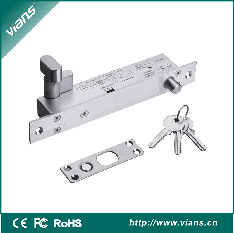 Fully Frameless Glass Door Electric Bolt Lock For Doors