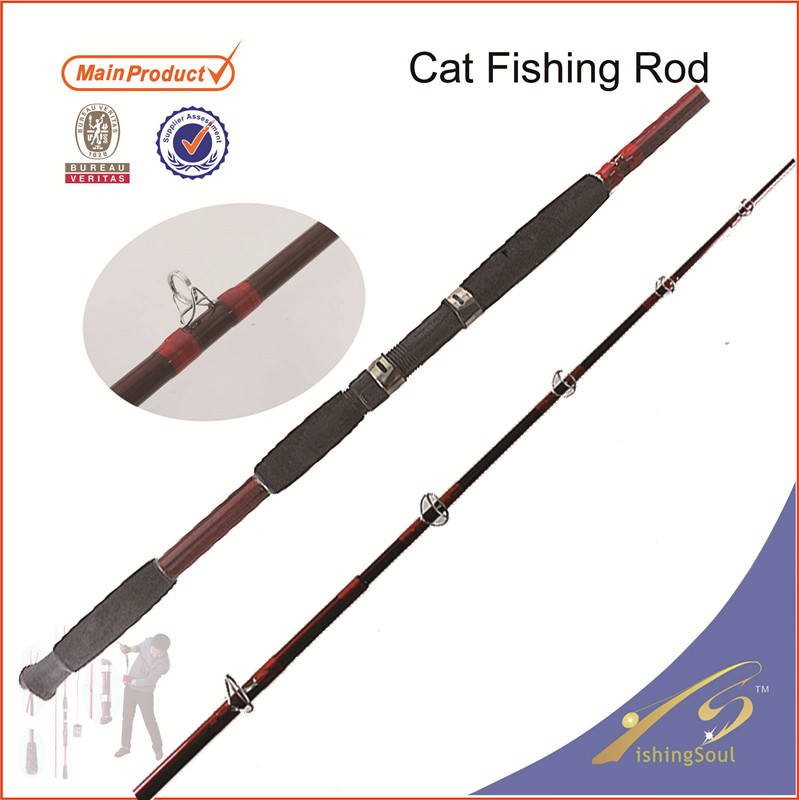 Cfr112 China Supplier Carbon Catfish Fishing Rods Oem