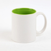 White blank top grade AAA top quality sublimation mug 11oz Coated Mug wholesale