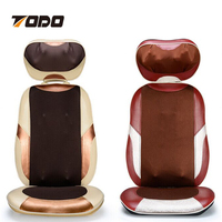 Electric Massage Chair Auto Car Home Office Full-Body Cushion Massager Seat Pad