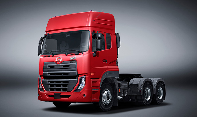 nissan ud quester 50ton heavy duty truck 6x4 tractor truck for sale volvo group buy heavy. Black Bedroom Furniture Sets. Home Design Ideas