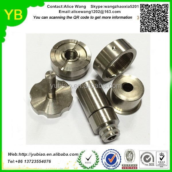 China custom aluminum steel brass central machinery wood cnc lathe machine parts