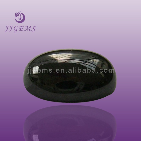 Wholesale oval black onyx stones price