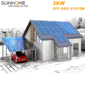 SUNHOME 3KW hot sell 2000W free energy Wind turbine Solar Lighting System
