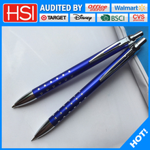 stationery customized logo promotional machinery cello ballpoint pen