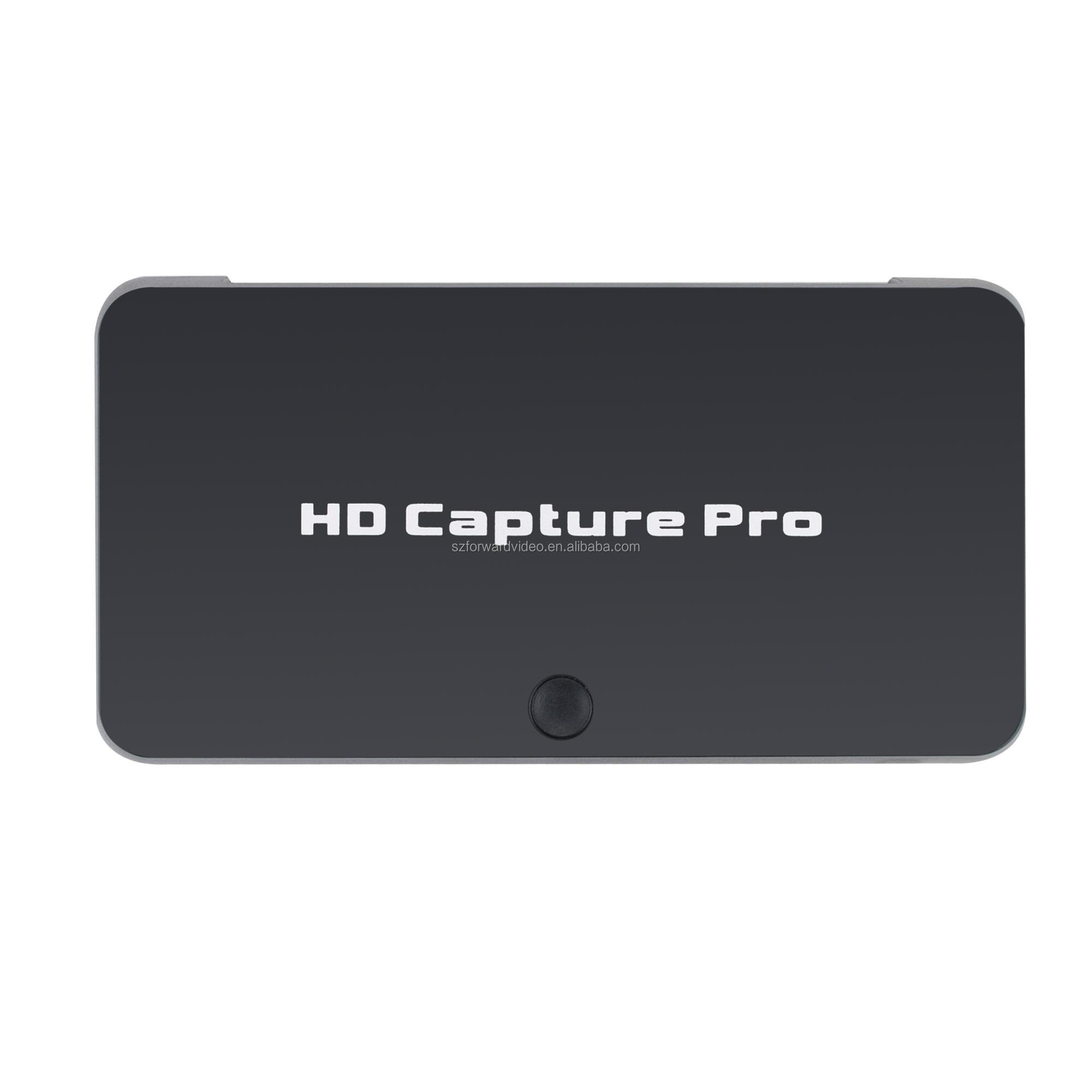 Stand alone HDMI video capture Pro game TV capture with playback Schedule recording function support 4K ezcap295