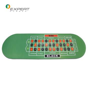 Portable Mahjong Mat Portable Poker Table Base Rubber Mat