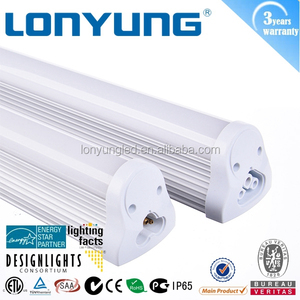 High lumen high CRI high RA ETL TUV CE DLC ERP Energy Star T8 unified bracket LED Tube Light 0.6m 0.9m 1.2m 1.5m