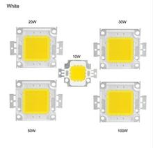 High Power COB LED Chip 10W 20W 30W 50W 100W Warm White /White For Floodlight Spotlight