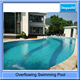 Overflowing swimming pool piscine boit astral pool
