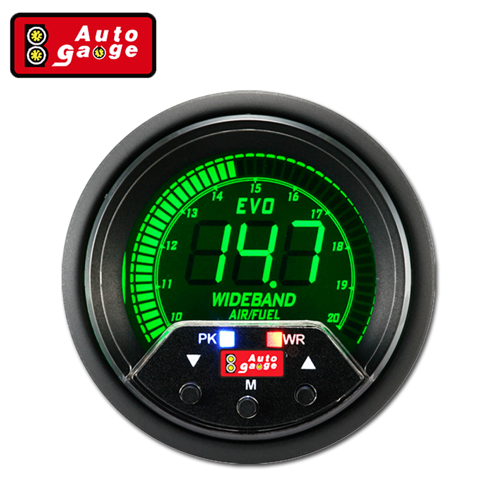 52 60mm Auto Wideband Air Fuel Ratio Gauge