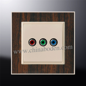 Best selling germany tv socket power socket outlet, wall socket with tv port