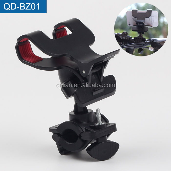 Cheapest Clip Double Man Cell Phone Holder For Bike Bicycle, Double Suction Cup Phone Holder