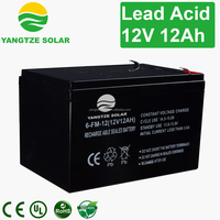 Hot sale 12v 12ah 6 dzm 12 electric scooter battery