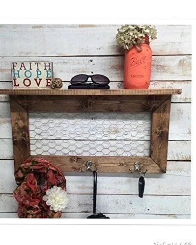 Entry Way Shelf, entryway shelf, coat rack, galvanized metal, wood shelf, metal shelf, Rustic Shelf, entry way shelves, coat rack with shelf