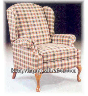 wing back leisure chair furniture