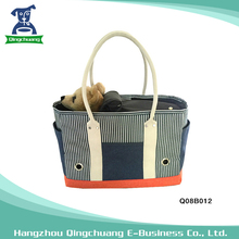 Collapsible Fashionable foldable dog kennel pet carrier bag for sale