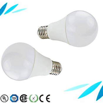 New Plastic Aluminum Housing 9w E27 3000 lumen led bulb light with 2 year guarantee