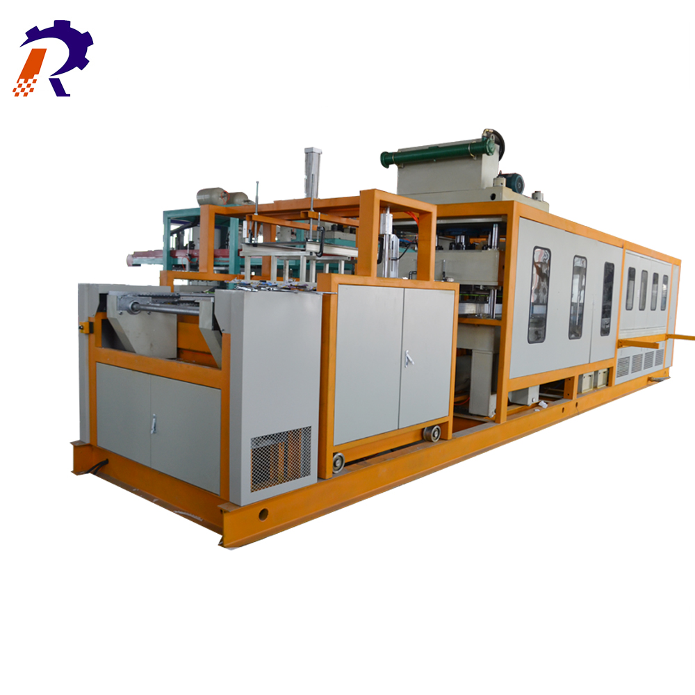 CE certificate PS foam take away food container making machine