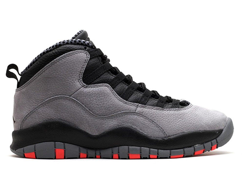 lowest price eb9df 92e66 Get Quotations · Ambar Zuiga Jurado Performance Sports Shoes air jordan 10  cool grey cool grey infrared black 011861