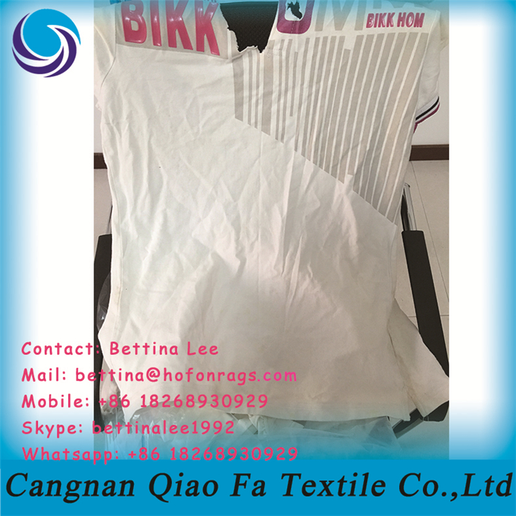 12 Inch Mutilated Rags 100% Cotton Cleaning Rags From Second Hand ...