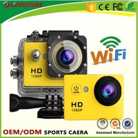 New style waterproof digital camera touch screen sport dv in action camera